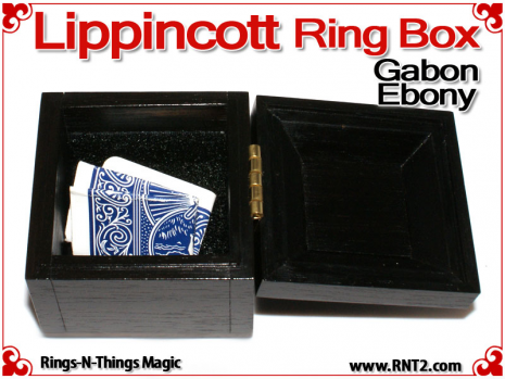 Lippincott Ring Box | Gabon Ebony 5