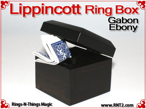 Lippincott Ring Box | Gabon Ebony 6