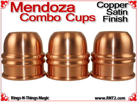 Mendoza Combo Cups | Copper | Satin Finish 2