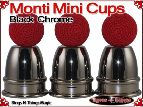 Monti Mini Cups | Copper | Black Chrome 5
