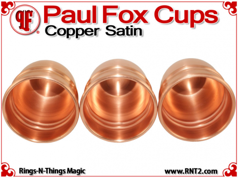 Paul Fox Cups | Copper | Satin Finish 6