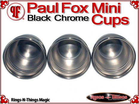 Paul Fox Mini Cups | Copper | Black Chrome 5