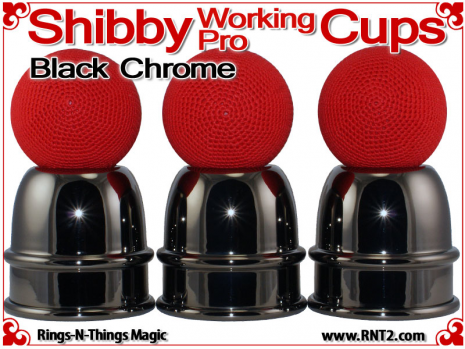 Shibby Working Pro Cups   Copper   Black Chrome 3