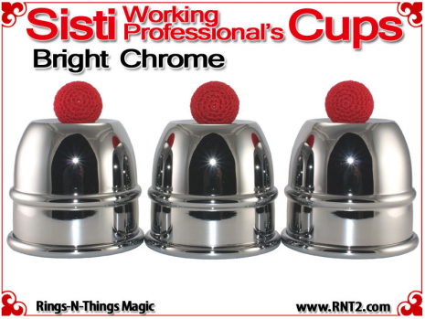 Sisti Cups | Copper | Bright Chrome Finish 1