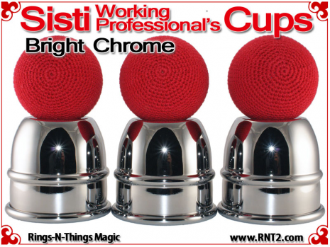 Sisti Working Professional's Cups | Copper | Bright Chrome 5