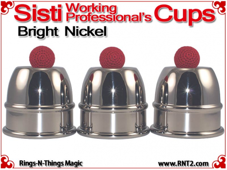 Sisti Working Professional's Cups | Copper | Bright Nickel