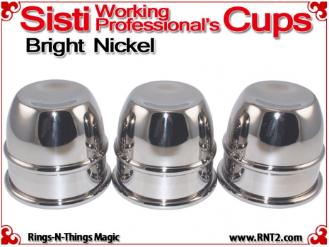 Sisti Working Professional's Cups | Copper | Bright Nickel 3