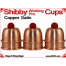 Shibby Working Pro Cups | Copper | Satin Finish 1
