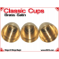 Classic Cups | Brass | Satin Finish