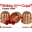 Shibby Working Pro Cups   Copper   Satin Finish 3
