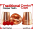 Traditional Tapered Combo Cups | Copper | Satin Finish 3