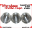 Mendoza Combo Cups | Aluminum | Satin Finish 5