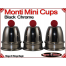Monti Mini Cups | Copper | Black Chrome