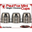 Paul Fox Mini Cups | Copper | Bright Chrome Finish 2