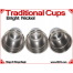 Traditional Tapered Cups | Copper | Bright Nickel 5