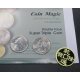 Double Face Super Triple Coin | Quarter by Johnny Wong
