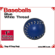 Blue Leather Baseball | 1 Inch (25mm) by Leo Smetsers