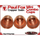 Paul Fox Mini Combo Cups | Copper | Satin Finish 4
