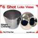 6 Shot Lota Vase | Copper | Bright Chrome 3
