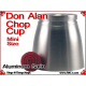 Don Alan Mini Chop Cup | Aluminum | Satin Finish