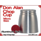 Don Alan Petite Chop Cup | Aluminum | Satin Finish