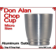 Don Alan Petite Chop Cup | Aluminum | Satin Finish 4