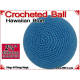Hawaiian Blue Crochet Ball | 2 3/8 Inch (60mm)