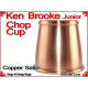 Ken Brooke Junior Chop Cup | Copper | Satin Finish 3