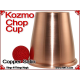 Kozmo Chop Cup | Copper | Satin Finish
