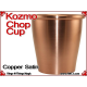 Kozmo Chop Cup | Copper | Satin Finish 4