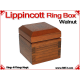 Lippincott Ring Box | Walnut 1
