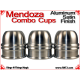Mendoza Combo Cups | Aluminum | Satin Finish 2