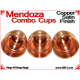 Mendoza Combo Cups | Copper | Satin Finish 5