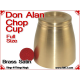 Don Alan Full Size Chop Cup | Brass | Satin Finish 3